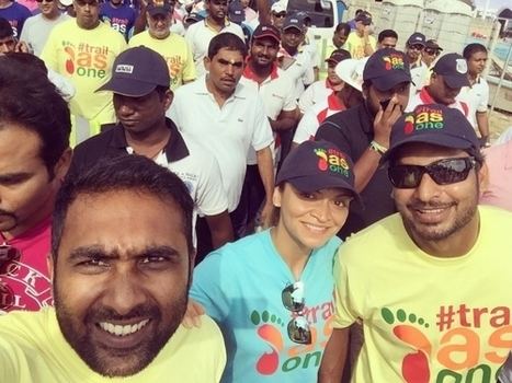 (Photos) Cricket legends walk to raise funds for cancer hospital in Sri Lanka | Sri Lanka Cricket | Scoop.it