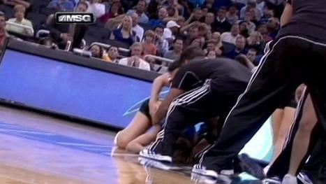 Orlando Magic dancer injured when stunt goes awry, falls on basketball court (VIDEO) | orlando magic | Scoop.it