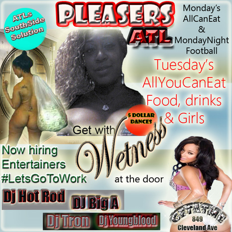 @PleasersAtl......849 Cleveland Ave...Come see the Jets vs Falcons tonight at Pleasers | GetAtMe | Scoop.it