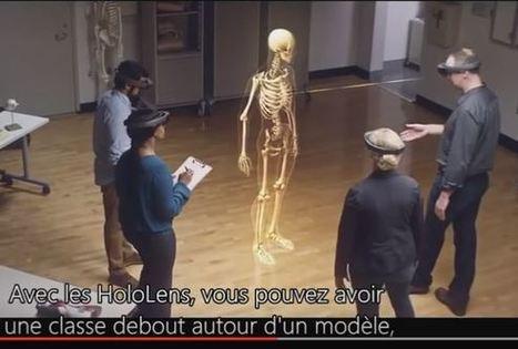 Conférence de SimforHealth - Interaction Healthcare : L'avenir de la simulation en Santé : l'HoloLens pour étudier l'anatomie en 3D | innovation & e-health | Scoop.it