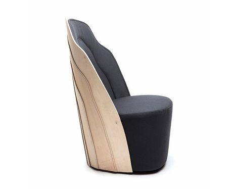 farg & blanche employs sewing in wood tailoring collection - designboom | Du mobilier, ou le cahier des tendances détonantes | Scoop.it