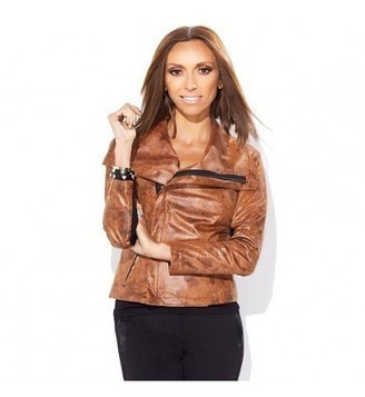 Giuliana Rancic Limited Edition HSN Distressed Brown Jacket | Movie Jacket | Scoop.it