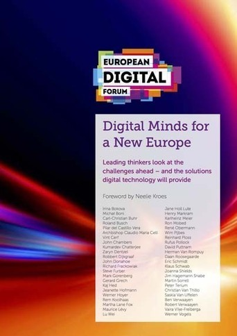 Digital Minds for a New Europe| NEW E-BOOK | Interneta rīki izglītībai | Scoop.it
