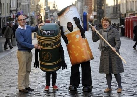Council asks volunteers to clean Edinburgh streets   teenage volunteers   Scoop.it
