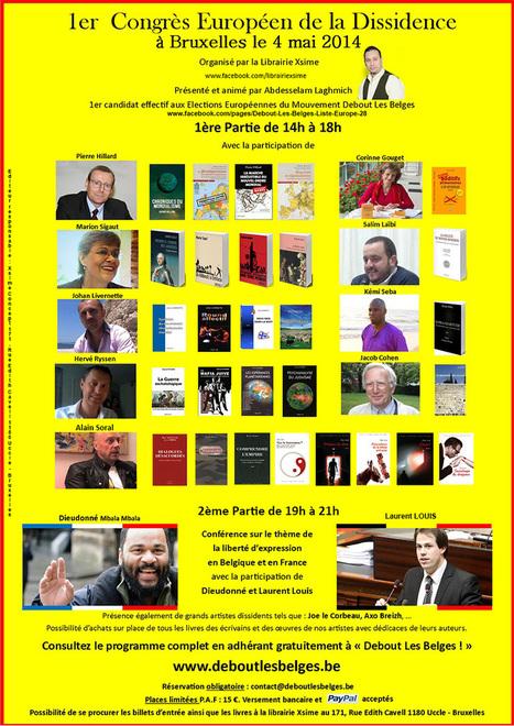 Congrès dissident à Bruxelles le 4 mai | Autres Vérités | Scoop.it