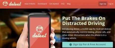 Detext, bloquea automáticamente llamadas y mensajes mientras conduces | Uso inteligente de las herramientas TIC | Scoop.it