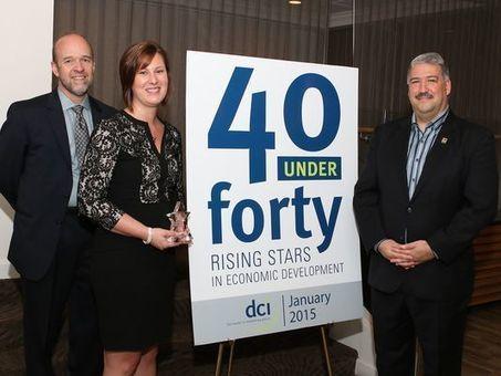 OCIC director wins 40 Under 40 award in economic development - Port Clinton News Herald   Strengthening Brand America   Scoop.it