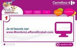 Carrefour lance un service pour tester gratuitement des produits | E-marketing Topics | Scoop.it