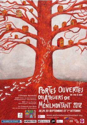 Portes Ouvertes des Ateliers de Ménilmontant 2012   Paris lifestyles   Scoop.it
