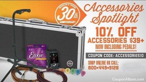 Musicians Friend 30th Anniversary Sale! | Coupons & Deals | Scoop.it