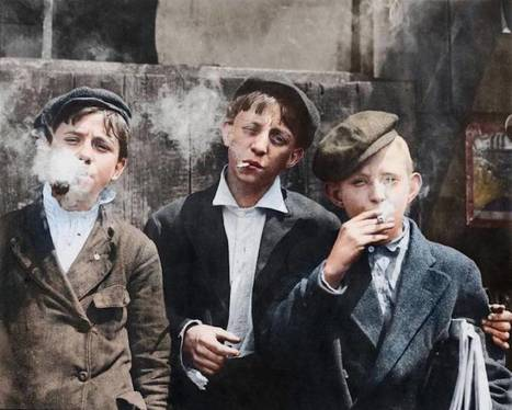 Colorized Photos of Children Working at the Beginning of the 20th Century | Actualité - Information - Documentation - Culture | Scoop.it