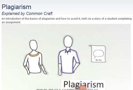 Plagiarism | Common Craft | Plagiarism and Academic Integrity | Scoop.it