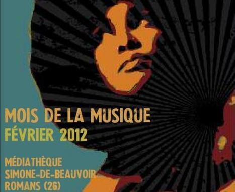 Musique à la médiathèque Simone-de-Beauvoir de Romans sur Isère | Musique en bibliothèque | Scoop.it
