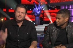 Blake Shelton Admits He Stares at Shakira, Feels Threatened by New 'The Voice' Coach Usher   Country Music Today   Scoop.it