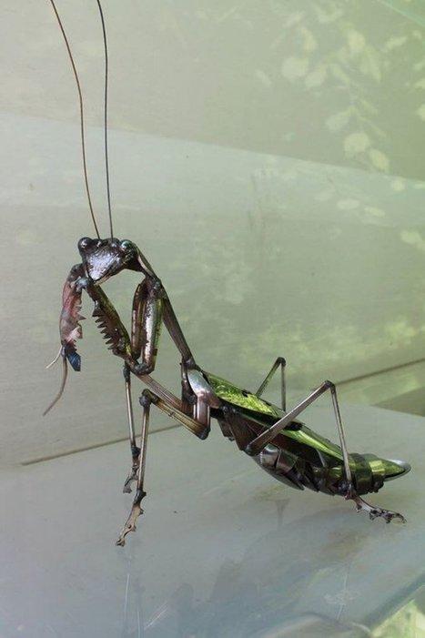 Artist Welds #Metal #Scraps into Beautiful #Sculptures of #Wildlife   Luby Art   Scoop.it