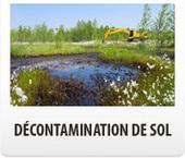 Réalisation de l'étape de décontamination de sol | Les Excavations Touchette | excavation | Scoop.it