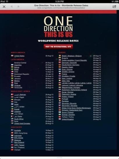 Twitter / 1Dupdates2: Wondering when the 1D3D movie ... | Graphic Movie Design | Scoop.it