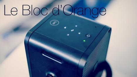 Le Bloc d'Orange, pico projecteur connecté, est disponible | GEEK ACADEMY | Scoop.it
