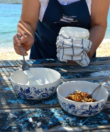 Greek yoghurt with honey and walnuts   Greek cuisine   Scoop.it