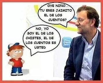 Humor con Rajoy. Tweet from @fermont1965 | Partido Popular, una visión crítica | Scoop.it