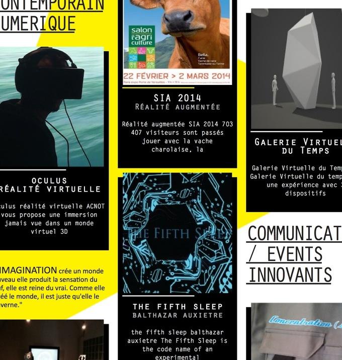 Digital Creativity & Art - Art Contemporain Numérique | Acnot - #mediaart #artnumerique