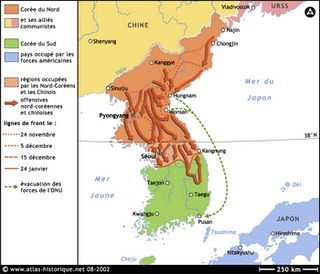 GUERRA DE COREA.: Guerra de Corea más mapas explicativos. | La Guerra de Corea | Scoop.it