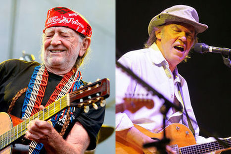 Willie Nelson and Neil Young - Omaha World-Herald | Domina Issues | Scoop.it