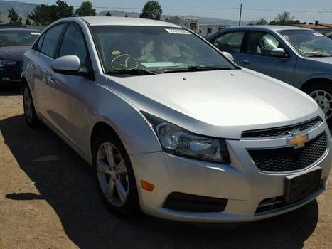2013 silver Chevrolet Cruze Lt on Sale in San Jose, CA | Online Auto Sale | Scoop.it