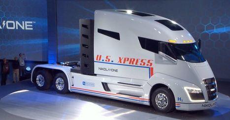 Nikola unveils its hydrogen-powered semi-truck | Heron | Scoop.it