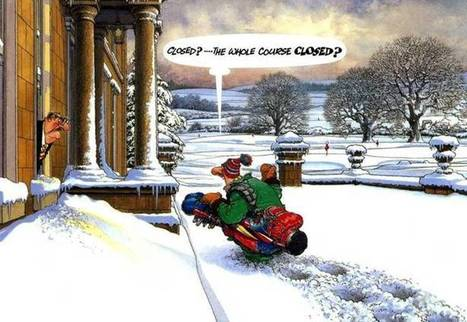 Winter Golf Cartoons and Pictures - e-Forwards.com - Funny Emails | WINTER FUN | Scoop.it