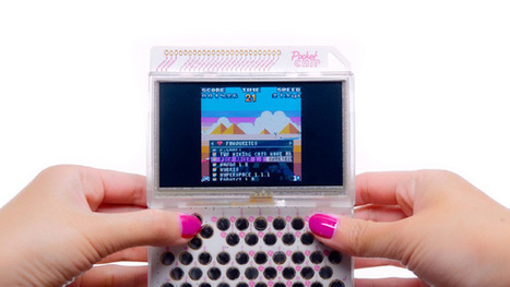 PocketCHIP, une console portable rétro à $49 ! » Le Mag de MO5.COM | [OH]-NEWS | Scoop.it