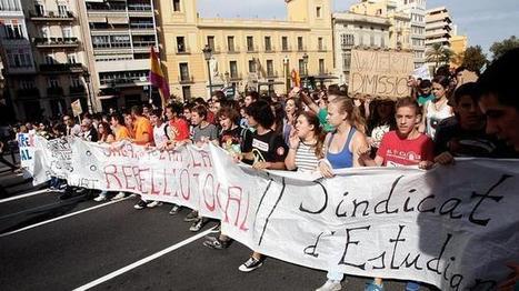 Profesores, padres y alumnos, llamados hoy a la tercera huelga general contra Wert | Huelga | Scoop.it