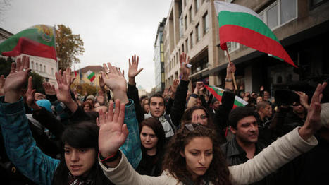 Bulgarian students demand end to govt corruption | How student riots work. | Scoop.it