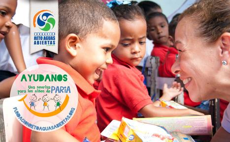 Una Sonrisa para los Niños de Paria | Fundación Reto Aguas Abiertas | Scoop.it