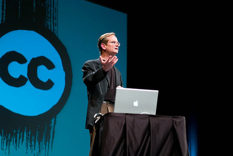 Lawrence Lessig to receive Lifetime Achievement Webby Award - Creative Commons   iSeuraan   Scoop.it