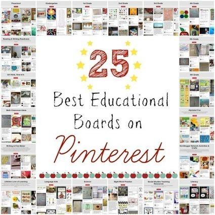 25 Best Educational Boards on Pinterest | Edtech PK-12 | Scoop.it
