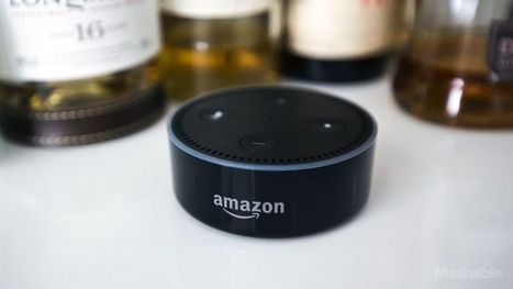 Amazon's Echo Dot 2 is the cheap, voice-controlled smart home hub all your rooms need - Mashable | Smart Home & Connected Things | Scoop.it