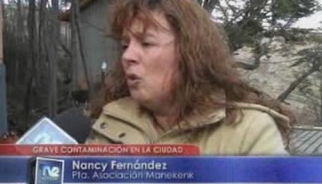 TV2 Noticias Ushuaia | Tierra del Fuego - Videos: GRAVE CONTAMINACIÓN EN LA CIUDAD | Asociación Manekenk | Scoop.it