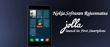 Nokia Software Rejuvenated as Jolla to launch its First Smartphone   Web Development Blog, News, Articles   Scoop.it