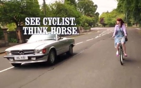Cycling advert ban: why cyclists must take the middle of the lane - Telegraph | CycleRotherham | Scoop.it