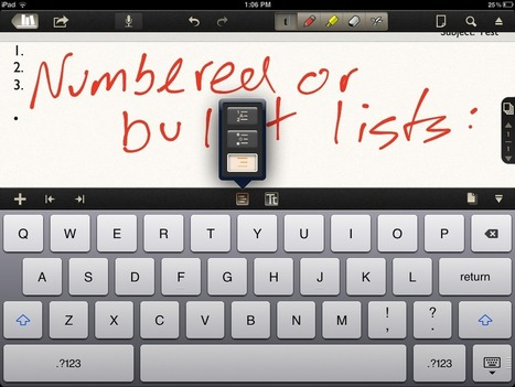 Getting started with Notability for iPad | The Administration Collection | Scoop.it