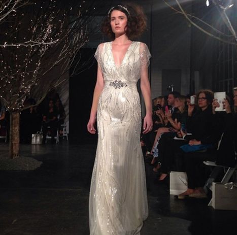 The Latest From the Bridal Runways: A Whirlwind of Gorgeous Wedding ... - Glamour (blog) | wedding dress | Scoop.it