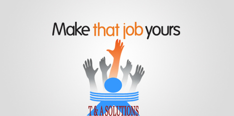 Job Consultants at Bangalore made Job Search Quicker & Easier   t & a hr solutions   Scoop.it