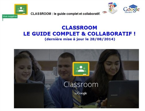 Guide complet Google Classroom | 4tice | Scoop.it