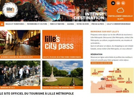 Lille, le web en simplicité ! | E-tourisme | Scoop.it