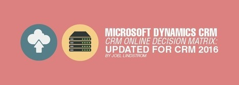 Microsoft Dynamics CRM vs CRM Online Decision Matrix: Updated for CRM 2016 | Microsoft Dynamics CRM | Scoop.it