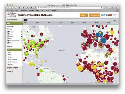 El daño causado por el movimiento antivacunas en un mapa que da miedo | Microsiervos (Ciencia) | Todo Biología | Scoop.it