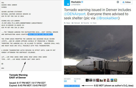 The Online Weather World Should Take a Chill Pill, Before an Actual Disaster Strikes | gestion de crise | Scoop.it