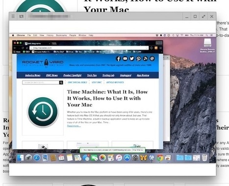 Friday Five: Amazing Things You Can Do with Google Chrome Browser on a Mac | Technology | Scoop.it