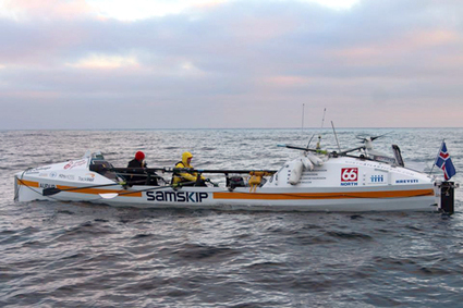 Conditions hamper North Sea rowers | The Orcadian Online | North Sea Oil and Gas | Scoop.it